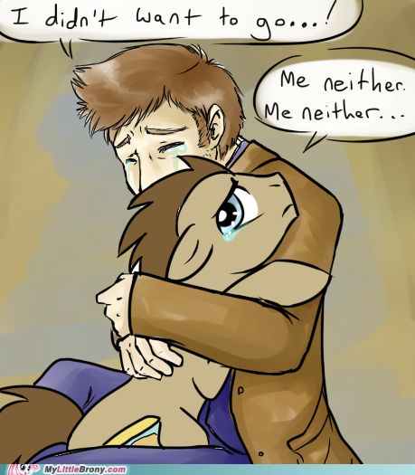 Doctor Who and Doctor Whooves