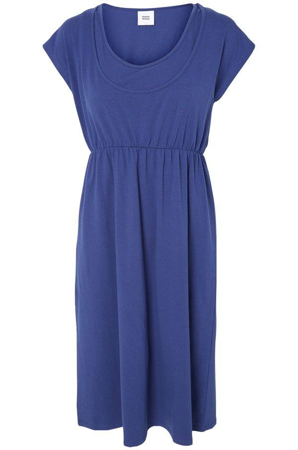 Luomupuuvillasta tehty imetys-ja äitiysmekko, alle 30 euroa!   Katso täältä lisää: http://www.mammas.fi/product/172/luomu-imetys-ja-aitiysmekko-peri-jersey-dress