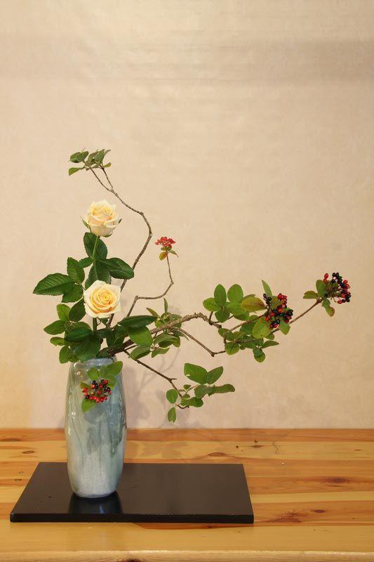 Ecole d'ikebana Ohara La Rochelle / Sud-Ouest - Heika - Cours et stages d'art floral japonais (ikebana) de l'école Ohara de Tokyo
