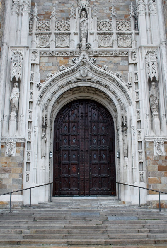 Front Door  Doors of Rosary Cathedral  Church  by PhotoShotArt, $15.00
