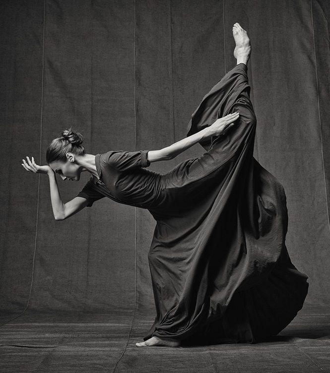 "Art project ""Svetlana Zakharova. Freeze frame"", by Russian photographer Vladimir Fridkes featuring Svetlana Zakharova."