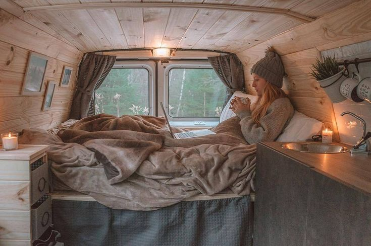 "1,781 Likes, 16 Comments - SUBMIT YOUR STORY (@vanlife.magazine) on Instagram: ""Tadaaam! After a few weeks of hard work, we just finished building our new cozy little home …"""