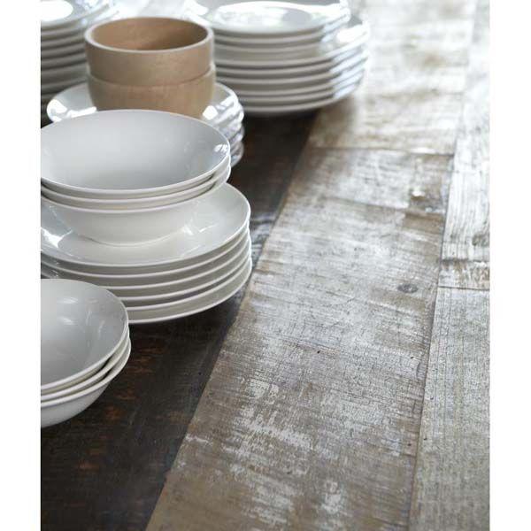 Prachtige gerecyclede teakhouten tafel Soul | Zen Lifestyle