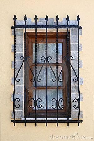 36 best wrought iron window images on pinterest - Rejas de hierro forjado ...