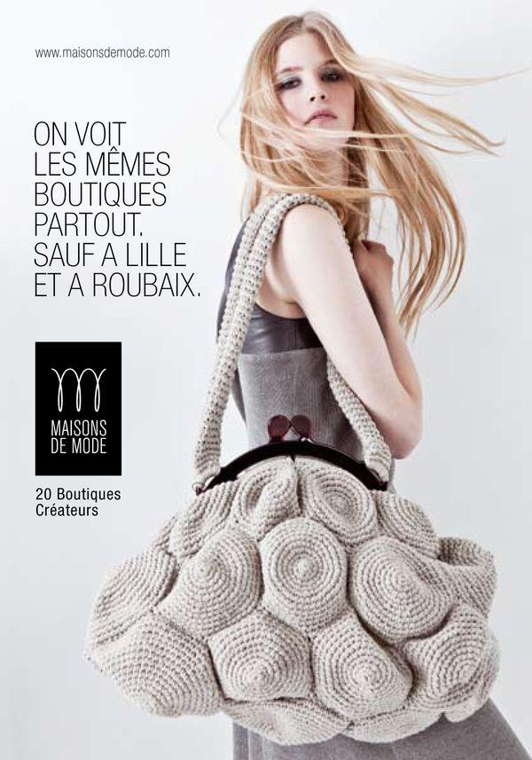 Crochet Modular Bag