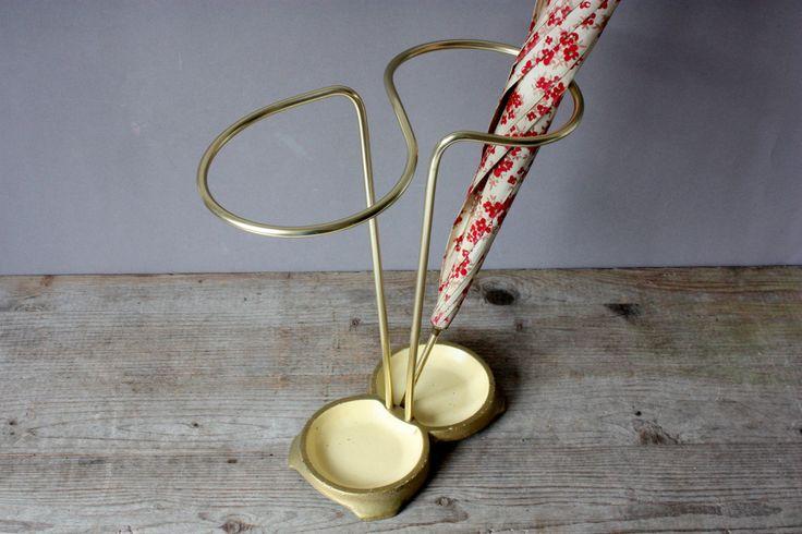 Retro+Rugs+50s+60s | 50s 60s umbrella stand, Mid-Century walking stick holder, home ...