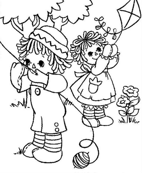 Raggedy Ann Coloring Pages