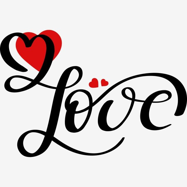 Love Text Lettering Handwritten With Hearts Love Infinity Love Hearts Png And Vector With Transparent Background For Free Download Love Text Lettering Love Yourself Text