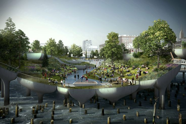 Thomas Heatherwick Reveals the Inspiration Behind Pier 55 Floating Park | 6sqft
