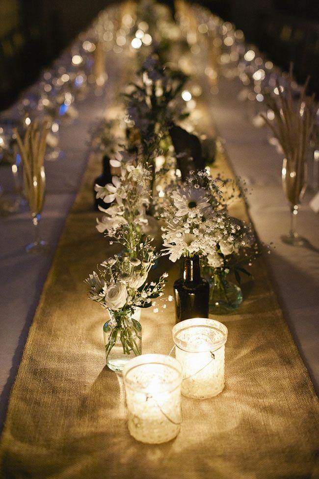 17 mejores ideas sobre centros de mesa de boda campestre en ...