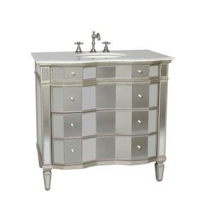 Mirrored Bathroom Vanity 36