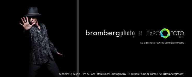 Bromberg Equipos Fotográficos en Expofoto 2013 . 5 y 6 de octubre, Estación Mapocho. www.brombergphoto.com