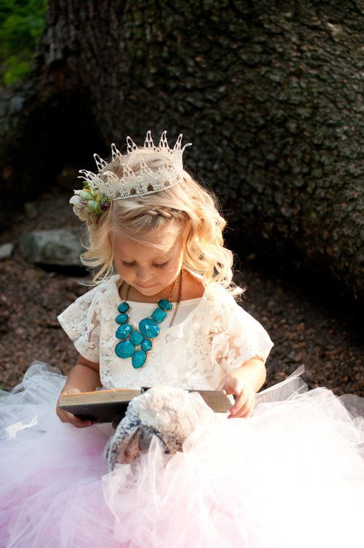 Birthday Crown - Spring Princess Photo By Mae Bolton Photography Crown by Neesie Designs