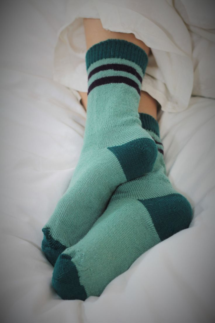 Knitted Wool socks - HAND MADE KNITTED -Seafoam green with bottle green accents -  winter socks Hipster  socks. mediium to large by footfetishsocks on Etsy