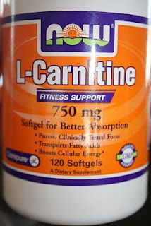 l-Carnitine...fat burning supplement | Maria's Nutritious and Delicious Journal
