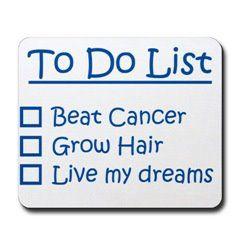 Post Cancer Treatment Checklist