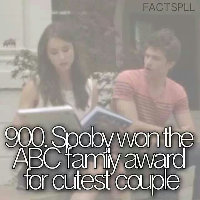 YOU GO SPOBY. They're my favourite couple on PLL