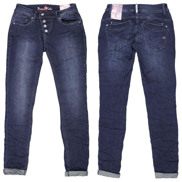 Buena Vista Stretch Damen Jeans / Form: Malibu Stretch Denim / Farbe: dunkelblau - FarbNr. 3326 / im Buena Vista Jeans Online Shop