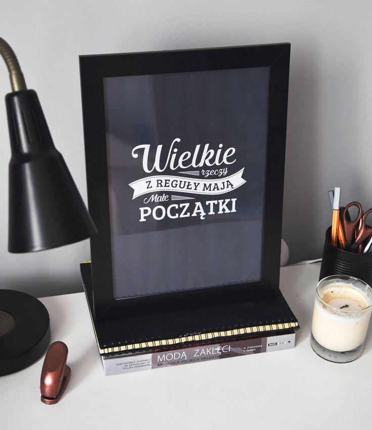 Motywujący plakat
