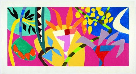 Art Gallery London | Current Art Exhibitions | Alan Cristea - Gillian Ayres: Paintings and Works on Paper 2010 - 2012