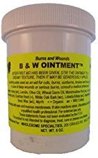 Studies have shown B&W Ointment to be an effective treatment for burns and soft tissue injuries.