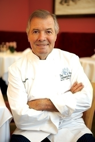 Famous French chef and close friend of Julia Child, Jacques Pepin.
