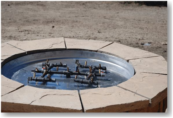 How To Build A Fire Pit Gas Kits To Make Your Own Fire