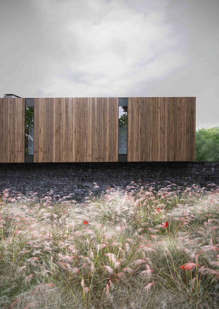 Found & Co architectural visualisation of Woodland House www.foundandco.co.uk Modern Contemporary Architecture
