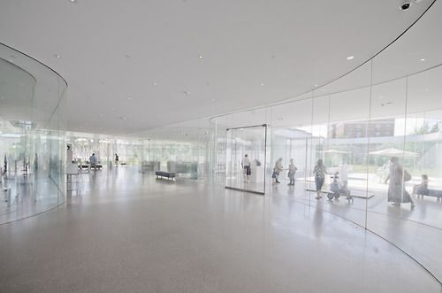Glass Pavilion  SANAA