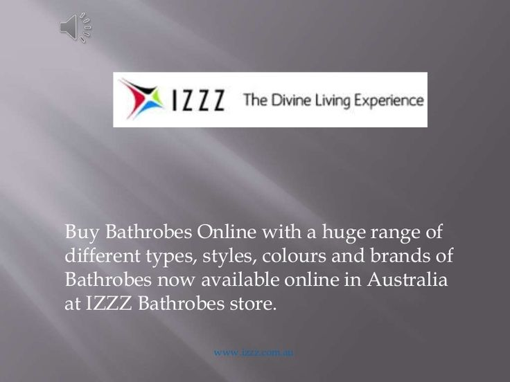Buy Bathrobes Online with a huge range of different types, styles, colours and brands of Bathrobes now available online in Australia at IZZZ Bathrobes store. h…