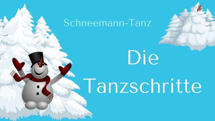 """""""Schneemann-Tanz"""" - Tanzschritte Noten und mp3 auf: www.kitakiste.jimdo.com - in der Shop-Fassung sind die Tanzteile doppelt und am Ende wird es schneller..."""