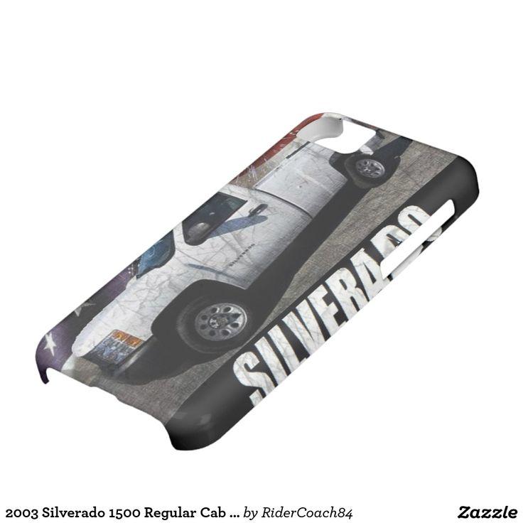 2003 Silverado 1500 Regular Cab W/T Long Bed iPhone 5C Covers
