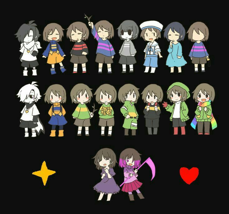 Cute Chibi Fox Wallpaper We Have Some Frisk Some Chara We Have Horrortale Aliza And