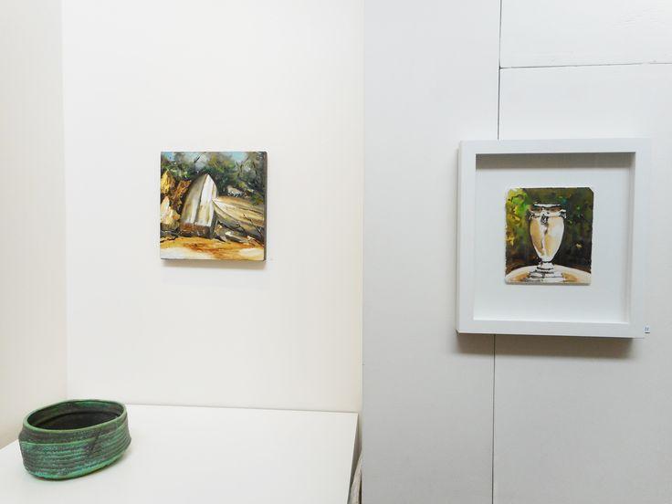 install of Viola Dominello's Recent Work 2014