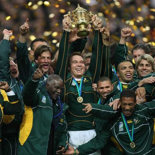 Springboks are gonna bring that trophy home again! Go bokke! *Whoop whoop*