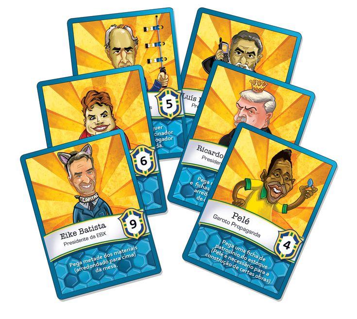 O jogo de cartas A Conta da Copa é Nossa!, da Quequeré Jogos, quer questionar o legado do mundial de futebol no Brasil.