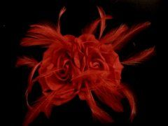Double Silk Rose - Red