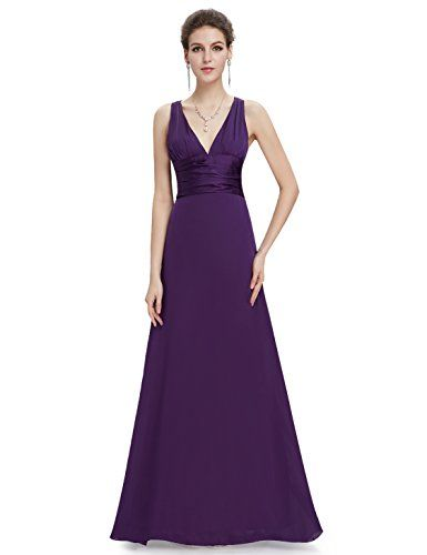 Ever Pretty Robe de Demoiselle d'honneur Dos croix V-col 16UK Violet Ever-Pretty http://www.amazon.fr/dp/B007CVUUXC/ref=cm_sw_r_pi_dp_.0NRwb0G63QRF