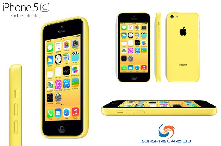 APPLE IPHONE 5c LATEST MODEL 16 GB UNLOCKED YELLOW GRADE A+ BOXED + ACCESSORIES