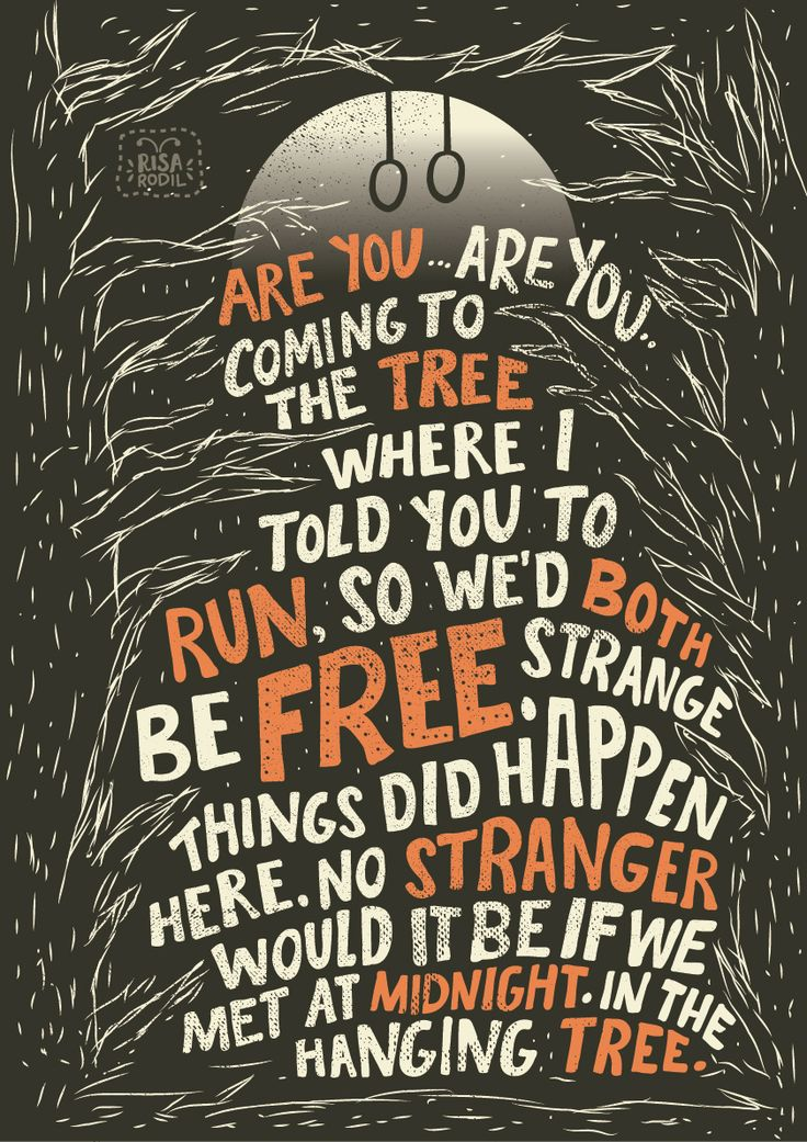 Are you, are you, coming to the tree..
