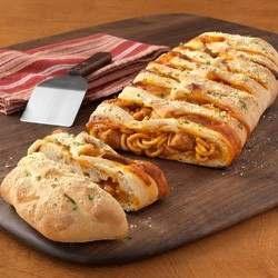 Braided Spaghetti Loaf. interesting