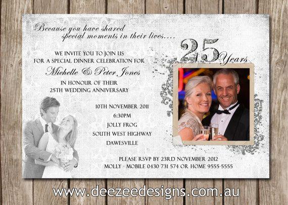 25 Wedding Anniversary Celebration Ideas: 180 Best 25th Wedding Anniversary Party Ideas Images On