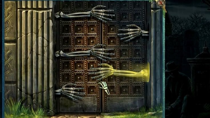 Can you open this door? Of course all neophytes of Hidden Object Puzzle Adventure genre will like this wonderful and copacetic PC/Mac game Redemption Cemetery 8: At Death's Door; it will force you to solve all kinds of Puzzle / Adventure / Hidden Object tasks.