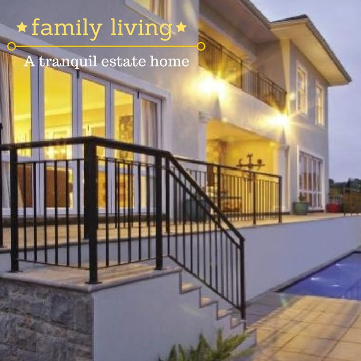 """Living in a tranquil and safe environment is what these parents wanted for their children and so they created the perfect family home. """"We wanted to be on an estate and let our kids enjoy the lifestyle that we experienced while growing up."""" http://www.sahomeowner.co.za/2014/03/17/family-living/"""