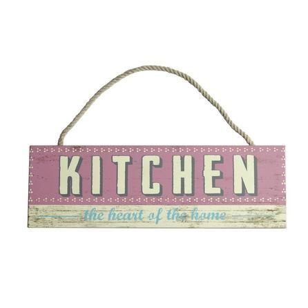 Kitchen Wooden Plaque   Dunelm
