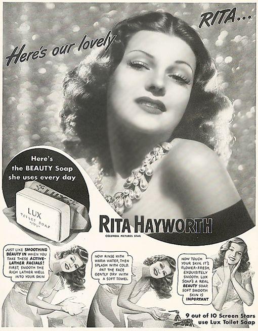 0 rita hayworth lux soap ad