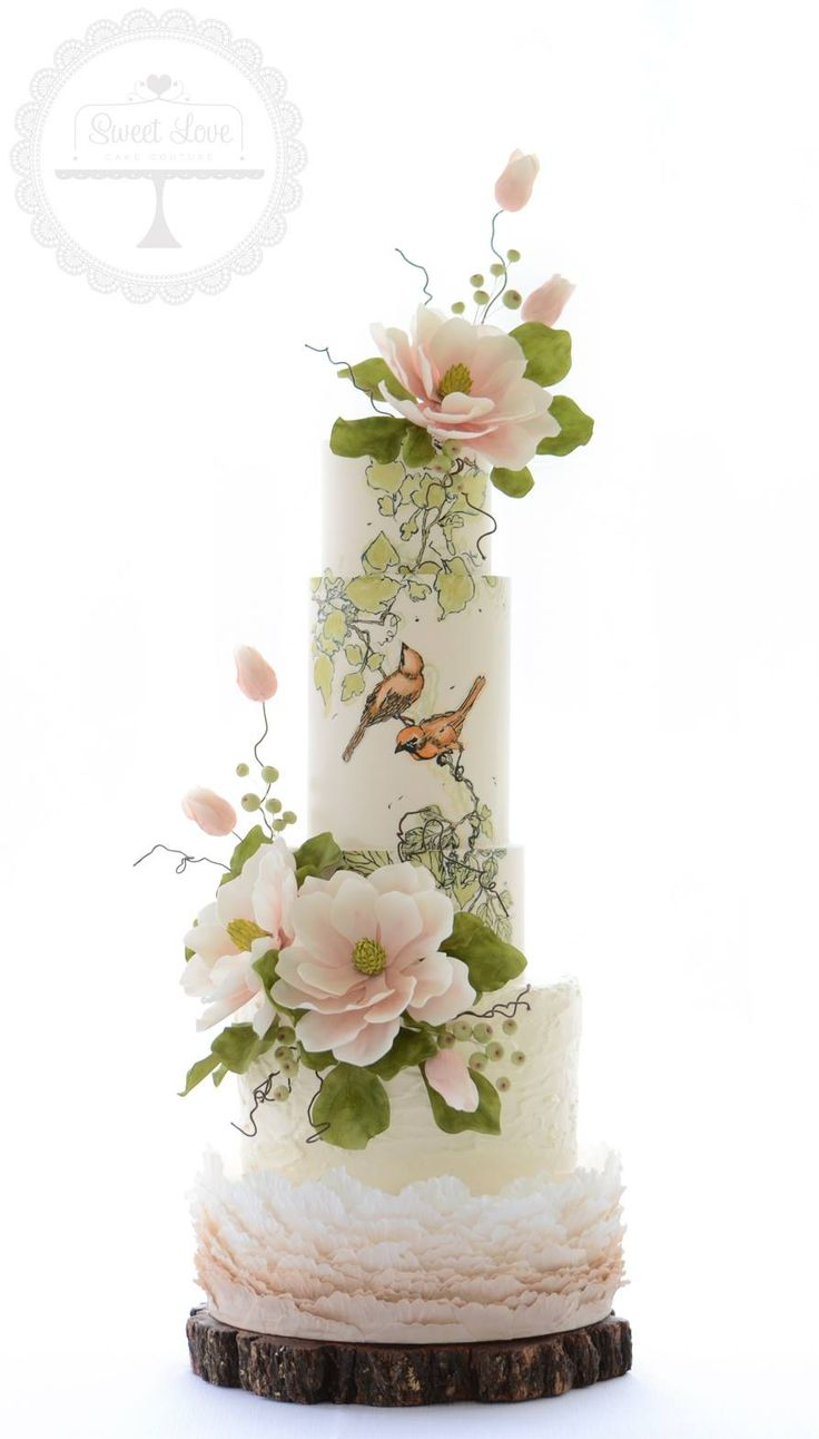 Nature Inspired wedding cake Sweet Love Cake Couture #weddingcake