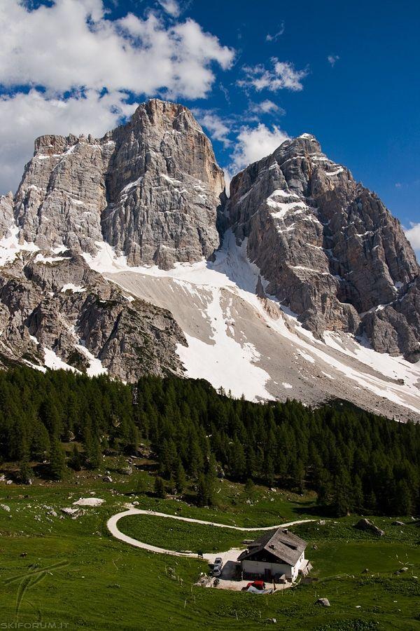 Pelmo, Val Fiorentina , province of Belluno, Veneto region Italy