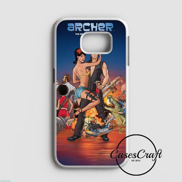 Archer Season 2 Samsung Galaxy S7 Edge Case | casescraft