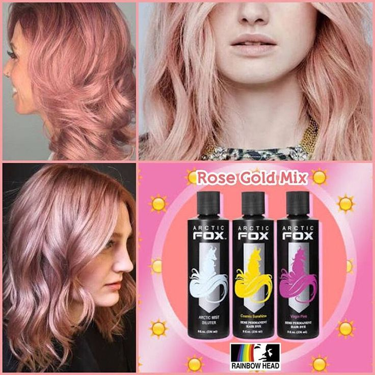 **TONS OF IDEAS**Get the perfect rose gold hair using ...